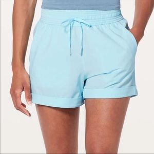 Lululemon Spring Break Away Short in Blue Glow